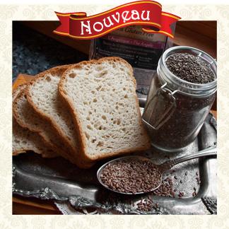 Nouveau pain au lin et chia
