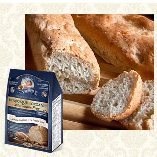 Recette de pain baguette sans gluten