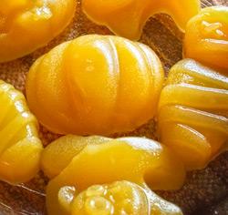 Gelée de fruits thématique Halloween sans gluten