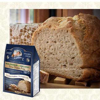 Mélange de pain sans gluten