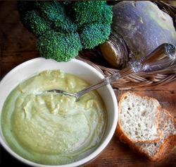 Potage navet et brocolisans gluten