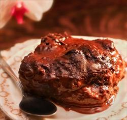 Pouding au chocolat sans gluten