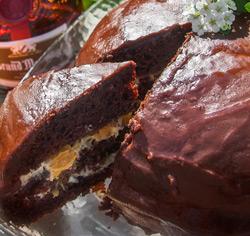 Gâteau choco-orange Grand-Marnier sans gluten