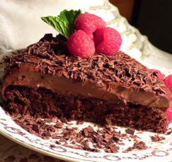 Gâteau mousse choco-cajou sans gluten