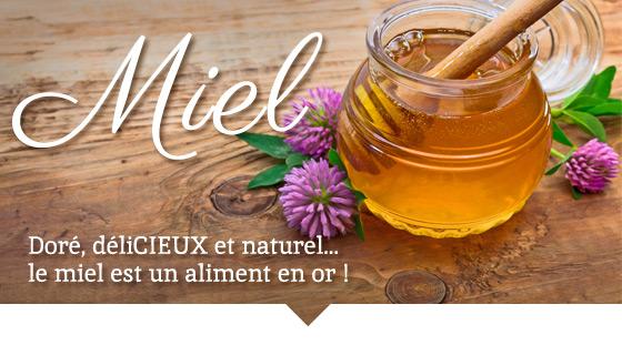 Doré, déliCIEUX et naturel...  le miel est un aliment en or !