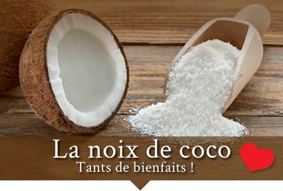 La noix de coco Tant de bienfaits!