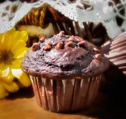 Recette sans gluten muffins double chocolat de Jacques