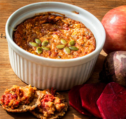 Recette sans gluten Végé-pâté pomme et betterave