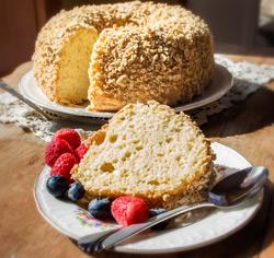 Gâteau de «grandes occasions» à l'érable  sans gluten