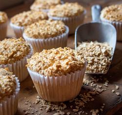 Muffins à l'érable sans gluten