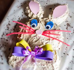 Transformez votre gâteau en lapin de Pâques!