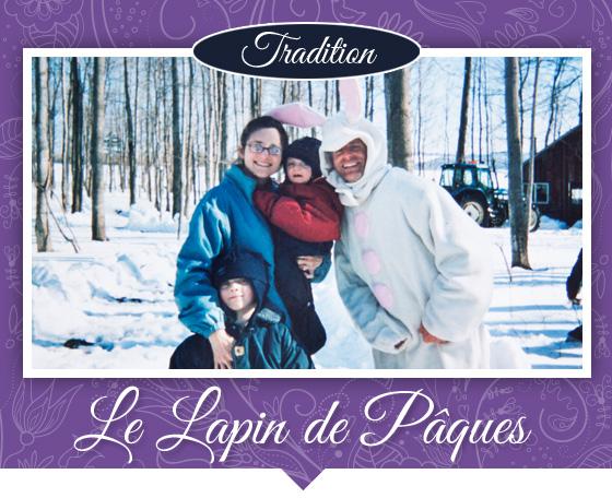 Tradition du lapin de Pâques