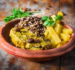Porc à la marocaine sans gluten