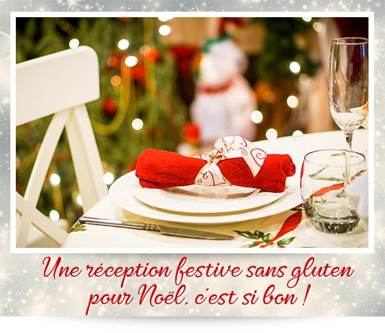 Une réception festive sans gluten pour Noël, c'est si bon !