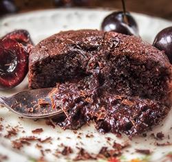 Mi-cuits «Cupidon» au chocolat noir sans gluten