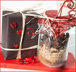 Mousse au chocolat en pot