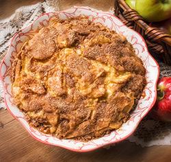 Tarte suédoise  aux pommes