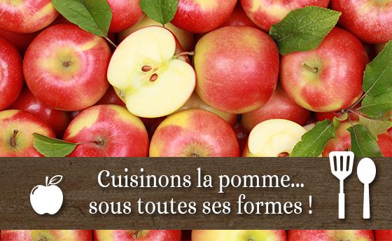 Cuisinons la pomme...sous toutes ses formes!