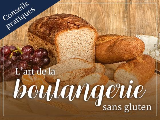 L'art de la boulangerie sans gluten