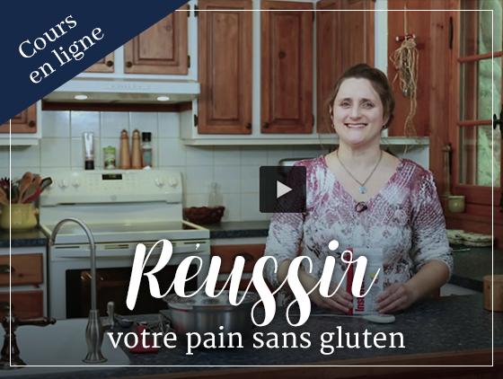 Cours en ligne - Réussir votre pain sans gluten