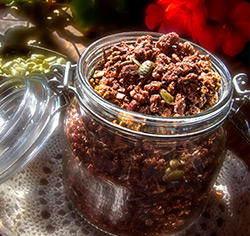 Céréales granola  au chocolat