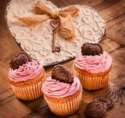Gâteau à saveur  «cerisettes»