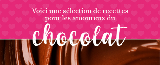 Sélection de recettes pour les amoureux du chocolat