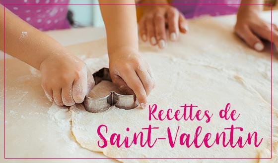 Recettes de Saint-Valentin et sans gluten