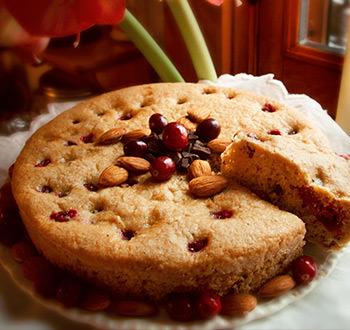 Recette sans gluten Gâteau pur délice choco-canneberges