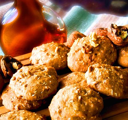 Biscuits au  sirop d'érable sans gluten