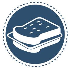 Pour obtenir des tranches tendres et moelleuses en sandwichs