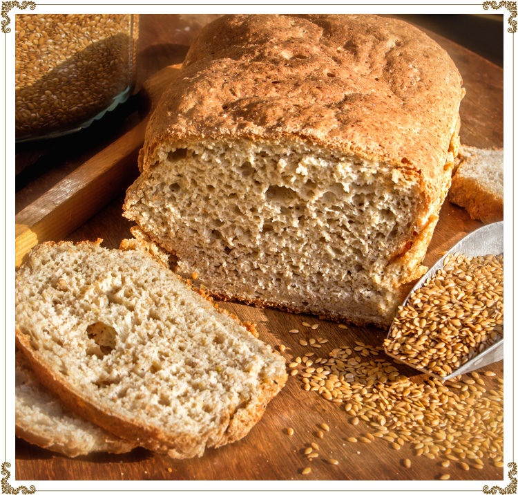 Recipe Gluten-free bread in the conventional oven, Cuisine l'Angélique