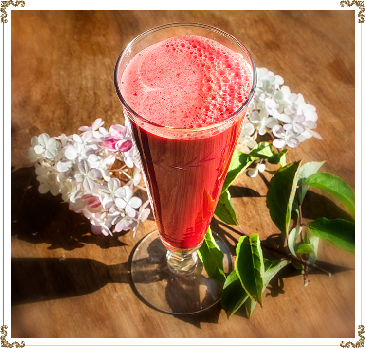 Recipe Energizing Juice Gluten-free, dairy-free (casein-free), hypotoxic and vegan  By: Cuisine l'Angélique