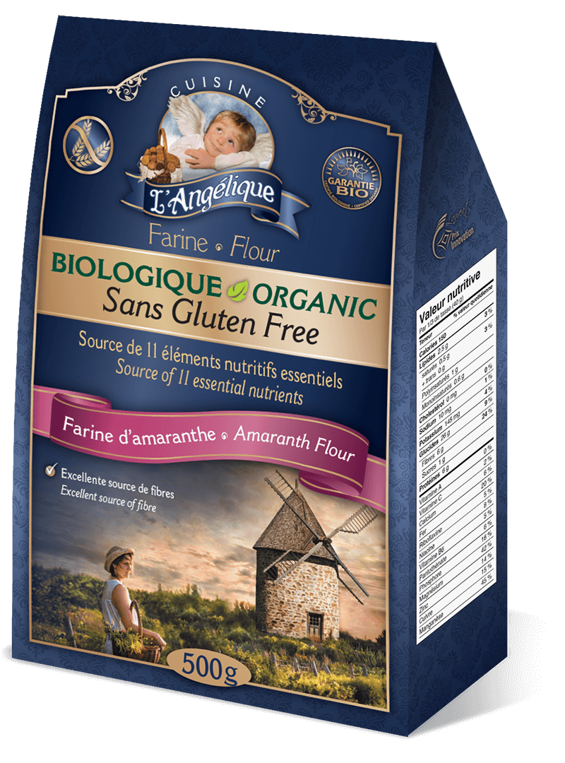 Amaranth flour, organic and gluten-free